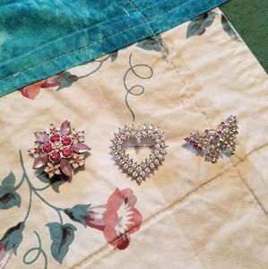 Vintage Brooches (3 in a bundle)